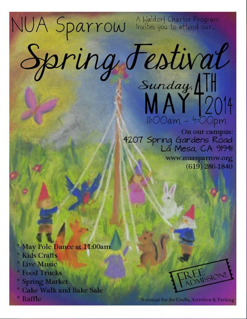 Spring Fest Flyer 2014