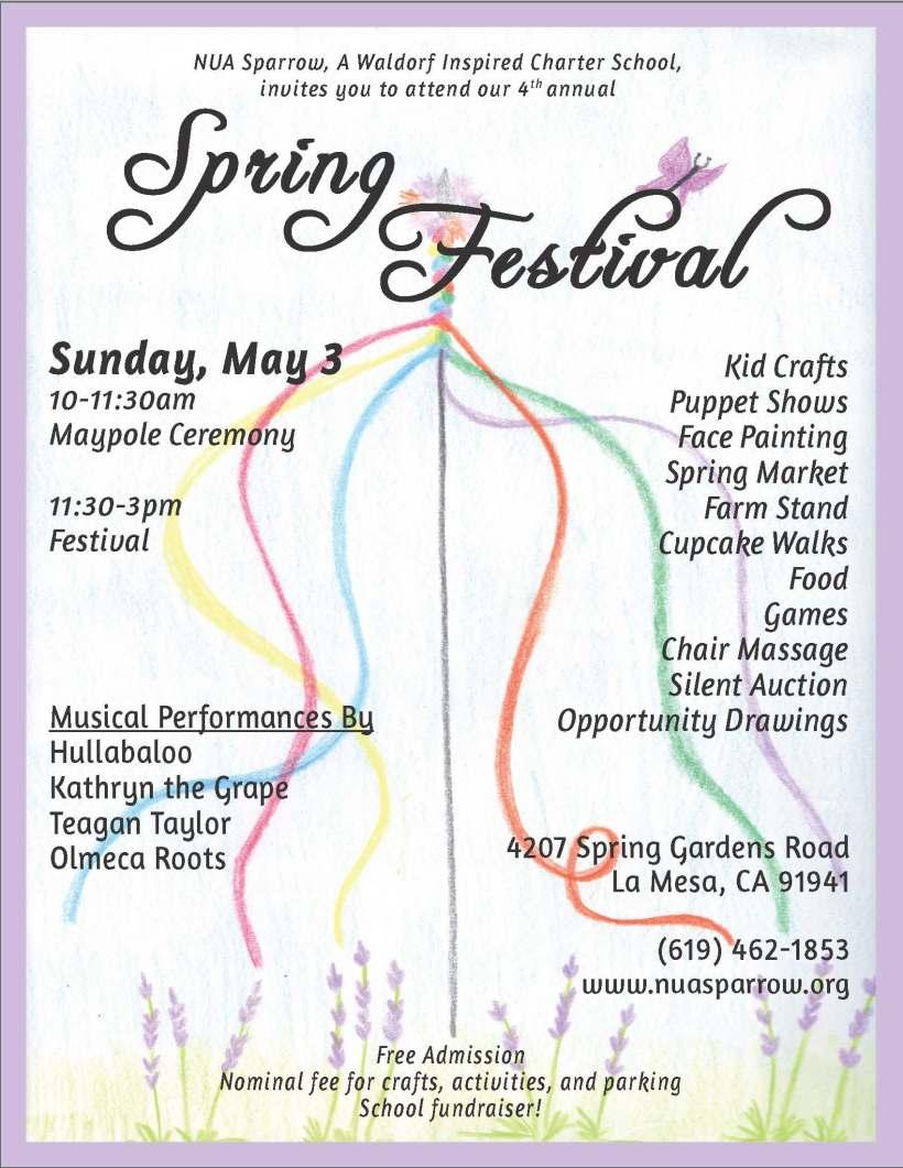 Flyer - Spring Fest 2015