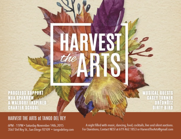 Harvest the Arts 2015